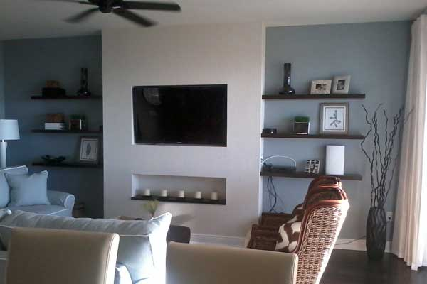 Cape Coral Media Built-in
